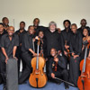With members of the Soweto String Ensemble