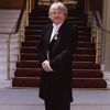 OBE at Buckingham Palace 2005