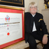 Sir Karl awarded the Freedom of Swansea